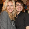 09-11 Heidi Klum attends the Victoria's Secret Beauty Backstage at Christian Siriano Spring-Summer 2009